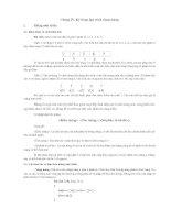Chương 4 Kỹ thuật lập  trình dùng mảnh