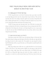 THỰC TRẠNG HOẠT ĐỘNG MÔI GIỚI CHỨNG KHOÁN TỰ DO Ở VIỆT NAM