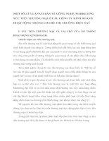 MỘT SỐ LÝ LUẬN CƠ BẢN VỀ CÔNG NGHỆ MARKETING XÚC TIẾN THƯƠNG MẠI Ở CÁC CÔNG TY KINH DOANH HOẠT ĐỘNG TRONG CƠ CHẾ THỊ TRƯỜNG HIỆN NAY