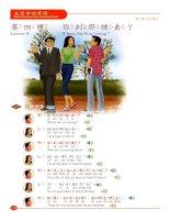 Lesson 4_Speak Mandarin in Five Hundred Words English version