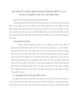 ĐẶC ĐIỂM CỦA HOẠT ĐỘNG KINH DOANH BẢO HIỂM VÀ TÁC DỤNG CỦA CHIẾN LƯỢC XÚC TIẾN HỖN HỢP