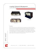 LoopStar® Network Management LoopStar 800/1600/3600 Provide Flexible Options for Network Management