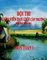 PHEP TRU TRONG PHAM VI 6 - LOP 1