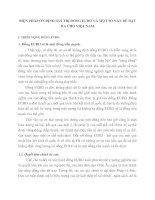 BIỆN PHÁP ỔN ĐỊNH GIÁ TRỊ ĐỒNG EURO VÀ MỘT SỐ VẤN ĐỀ ĐẶT RA CHO VIỆT NAM