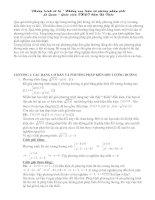 Tổng hợp các pp giải pt vô tỉ
