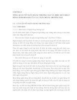 TỔNG QUAN VỀ NGÂN HÀNG THƯƠNG MẠI VÀ HIỆU QUẢ HOẠT ĐỘNG KINH DOANH CỦA NHTM