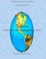 DIA 6 TIET 13:Thực hành sụ phân bố các lục địa và đại dương trên bề mặt trái đất