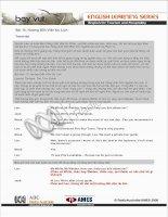 Bài 13: Hướng Dẫn Viên Du Lịch Transcript Quỳnh Liên và toàn Ban Tiếng Việt, Đài