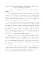 MỘT SỐ ĐÁNH GIÁ VÀ KIẾN NGHỊ NHẰM HOÀN THIỆN CÔNG TÁC KẾ TOÁN VẬT LIỆU TẠI XN IN I   TTXVN