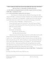 THỰC TRẠNG KẾ TOÁN TIÊU THỤ VÀ XÁC ĐỊNH KẾT QUẢ TIÊU THỤ HÀNG HÓA TẠI CÔNG TY TNHH ĐIỆN TỰ ĐỘNG HÓA H
