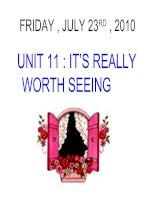 unit 10: Famous landmarks