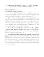 LÝ LUẬN CHUNG VỀ CHƯƠNG TRÌNH DU LỊCH VÀ CÁC BIỆN PHÁP NÂNG CAO CHẤT LƯỢNG CHƯƠNG TRÌNH DU LỊCH