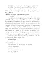 THỰC TRẠNG NĂNG LỰC QUẢN LÝ CỦA BỆNH VIỆN ĐA KHOA AN DƯƠNG KHI ÁP DỤNG CƠ CHẾ TỰ CHỦ TÀI CHÍNH