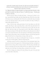 NHẬN XÉT VÀ KIẾN NGHỊ  VỀ CÔNG TÁC KẾ TOÁN TẬP HỢP CHI PHÍ VÀ TÍNH GIÁ THÀNH SẢN PHẨM XÂY LẮP Ở CÔNG TY CỔ PHẦN XÂY DỰNG – THƯƠNG MẠI VÀ DỊCH VỤ VĂN HOÁ .