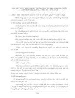 MỘT SỐ Ý KIẾN NHẰM HOÀN THIỆN CÔNG TÁC HOẠCH ĐỊNH CHIẾN LƯỢC KINH DOANH TẠI CÔNG TY SÔNG ĐÀ II
