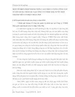 MỘT SỐ BIỆN PHÁP NHẰM NÂNG CAO CHẤT LƯỢNG CÔNG TÁC TUYỂN DỤNG NHÂN SỰ TẠI CÔNG TYTNHH NHÀ NƯỚC MỘT THÀNH VIÊN CƠ ĐIỆN TRẦN PHÚ