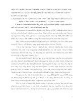MỘT SỐ Ý KIẾN GÓP PHẦN HOÀN THIỆN CÔNG TÁC KẾ TOÁN TIÊU THỤ THÀNH PHẨM VÀ XÁC ĐỊNH KẾT QUẢ TIÊU THỤ TẠI CÔNG TY CAO SU SAO VÀNG HÀ NỘI