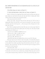 ĐẶC ĐIỂM TÌNH HÌNH SẢN XUẤT KINH DOANH CỦA CÔNG TY SỨ THANH TRÌ