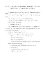 TÌM HIỂU CHUNG VỀ TỔ CHỨC CÔNG TÁC KẾ TOÁN Ở CÔNG TY CP KIẾN TRÚC VÀ VẬT LIỆU XÂY DỰNG DTH