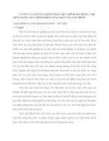 CƠ SỞ LÝ LUẬN CỦA KIỂM TOÁN CHU TRÌNH BÁN HÀNG  THU TIỀN TRONG QUY TRÌNH KIỂM TOÁN BÁO CÁO TÀI CHÍNH