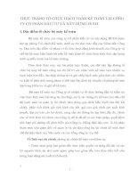 THỰC TRẠNG TỔ CHỨC HẠCH TOÁN KẾ TOÁN TẠI CÔNG TY CỔ PHẦN ĐẦU TƯ VÀ XÂY DỰNG HUD3