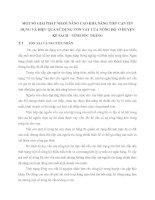 MỘT SỐ GIẢI PHÁP NHẰM NÂNG CAO KHẢ NĂNG TIẾP CẬN TÍN DỤNG VÀ HIỆU QUẢ SỬ DỤNG VỐN VAY CỦA NÔNG HỘ  Ở HUYỆN KẾ SÁCH