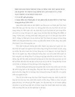MỘT SỐ GIẢI PHÁP NHẰM TĂNG CƯỜNG THU HÚT KHÁCH DU LỊCH QUỐC TẾ THEO LOẠI HÌNH DU LỊCH MICE CỦA VIỆT NAM TRONG GIAI ĐOẠN 2010