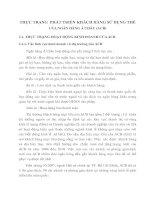 THỰC TRẠNG  PHÁT TRIỂN KHÁCH HÀNG SỬ DỤNG THẺ CỦA NGÂN HÀNG Á CHÂU
