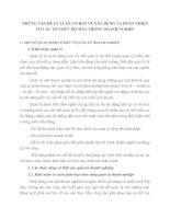 NHỮNG VẤN ĐỀ LÝ LUẬN CƠ BẢN VỀ XÂY DỰNG VÀ HOÀN THIỆN CƠ CẤU TỔ CHỨC BỘ MÁY TRONG DOANH NGHIỆP