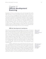Mobilizing domestic resources for development - Chapter IV
