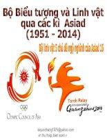 Bộ biểu tượng và linh vật của ASIAD (1951 - 2014)