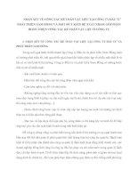 NHẬN XÉT VỀ CÔNG TÁC KẾ TOÁN VẬT LIÊU TẠI CÔNG TY ĐẦU TƯ  PHÁT TRIỂN NAM HỒNG VÀ MỘT SỐ Ý KIẾN ĐỀ XUẤT NHẰM GÓP PHẦN HOÀN THIỆN CÔNG TÁC KẾ TOÁN VẬT LIỆU Ở CÔNG TY