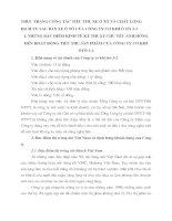 THỰC TRẠNG CÔNG TÁC TIÊU THỤ XE Ô TÔ VÀ CHẤT LƯỢNG DỊCH VỤ SAU BÁN XE Ô TÔ CỦA CÔNG TY CƠ KHÍ Ô TÔ 3-2