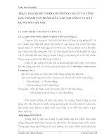 THỰC TRẠNG KẾ TOÁN CHI PHÍ SẢN XUẤT VÀ TÍNH GIÁ THÀNH SẢN PHẨM XÂY LẮP TẠI CÔNG TY XÂY DỰNG SỐ 1 HÀ NỘI.