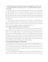 GIẢI PHÁP NÂNG CAO CHẤT LƯỢNG THẨM ĐỊNH DỰ ÁN ĐẦU TƯ TẠI CHI NHÁNH NGÂN HÀNG ĐẦU TƯ VÀ PHÁT TRIỂN HÀ NỘI