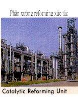 Tài liệu hóa dầu thầy Lê Văn Hiếu -DHBKHN : thiết bị reforming xúc tác