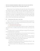 MỘT SỐ GIẢI PHÁP NHẰM HOÀN THIỆN CÔNG TÁC QUẢN TRỊ NHÂN SỰ TẠI CÔNG TY CỔ PHẦN XÂY DỰNG VIỄN THÔNG MIỀN NAM