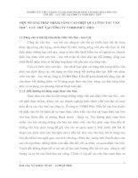 MỘT SỐ GIẢI PHÁP NHẰM NÂNG CAO HIỆU QUẢ CÔNG TÁC VĂN THƯ – LƯU TRỮ TẠI CÔNG TY TNHH PHÚC TIẾN