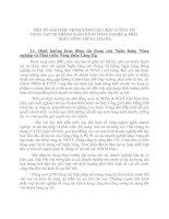 MỘT SỐ GIẢI PHÁP NHẰM NÂNG CAO CHẤT LƯỢNG TÍN DỤNG TẠI CHI NHÁNH NGÂN HÀNG NÔNG NGHIỆP