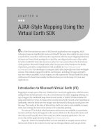 AJAX-Style Mapping Using the Virtual Earth SDK