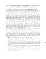 THỰC TRẠNG VỀ CÔNG TÁC TỔ CHỨC KẾ TOÁN TÀI SẢN CỐ ĐỊNH Ở CÔNG TY CỔ PHẦN SÔNG ĐÀ 11