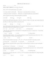 đề kiểm tra 45''''chương 1 vật lý9