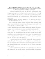 MỘT SỐ KIẾN NGHỊ NHẰM NÂNG CAO CÔNG TÁC KẾ TOÁN CHO VAY NGOÀI QUỐC DOANH TẠI NGÂN HÀNG NÔNG NGHIỆP VÀ PHÁT TRIỂN NÔNG THÔN QUẢNG BÌNH