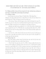 HOÀN THIỆN  KẾ TOÁN VẬT LIỆU  CÔNG CỤ DỤNG CỤ TẠI CÔNG TY CỔ PHẦN ĐẦU TƯ  XÂY DỰNG GIAO THÔNG 6