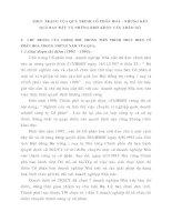 THỰC TRẠNG CỦA QUÁ TRÌNH CỔ PHẦN HOÁ - NHỮNG KẾT QUẢ BAN ĐẦU VÀ NHỮNG KHÓ KHĂN CẦN THÁO GỠ