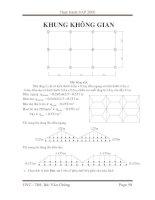 Sap 2000 - Phần bài tập thực hành 7