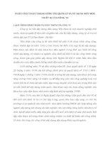 PHÂN TÍCH THỰC TRẠNG CÔNG TÁC QUẢN LÝ VÀ SỬ DỤNG MÁY MÓC THIẾT BỊ CỦA CÔNG TY
