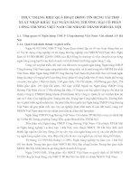 THỰC TRẠNG HIỆU QUẢ HOẠT ĐỘNG TÍN DỤNG TÀI TRỢ XUẤT NHẬP KHẨU TẠI NGÂN HÀNG THƯƠNG MẠI CỔ PHẦN CÔNG THƯƠNG VIỆT NAM CHI NHÁNH THÀNH PHỐ HÀ NỘI