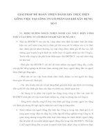GIẢI PHÁP ĐỂ HOÀN THIỆN ĐÁNH GIÁ THỰC HIỆN CÔNG VIỆC TẠI CÔNG TY CỔ PHẦN CƠ KHÍ XÂY DỰNG SỐ 5