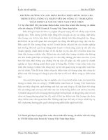 PHƯƠNG HƯỚNG VÀ GIẢI PHÁP HOÀN THIỆN KIỂM TOÁN CHU TRÌNH TIỀN LƯƠNG VÀ NHÂN VIÊN DO CÔNG TY TNHH KIỂM TOÁN ERNST & YOUNG VIỆT NAM THỰC HIỆN